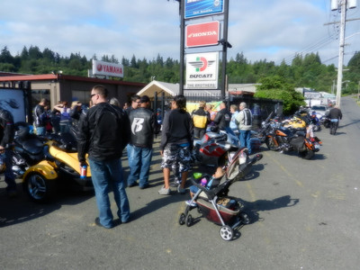 8th Annual Don Blair Memorial Plker Run @ Brothers Powersports - August 7, 2011