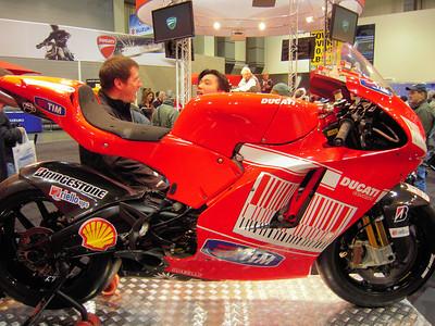 Seattle International Bike Show - December 2009