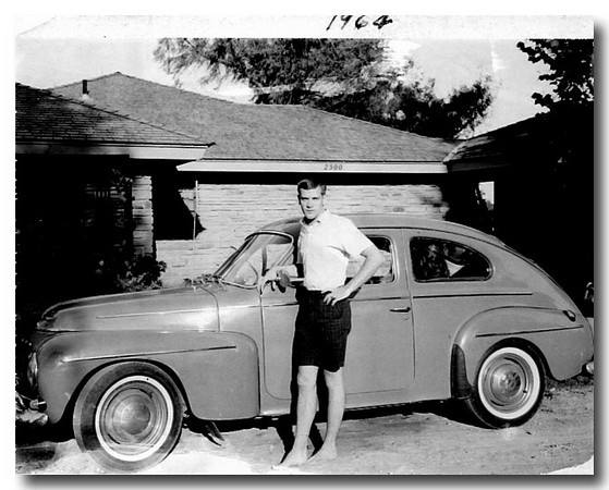 Yup, that's me in 1964 with my newly acquired 1962 Volvo 544 Sport.  Drove it from Denver to my parent's home in Oklahoma City and back with, of course, no issues.