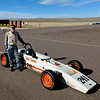 "<b>A BANNNER DAY Feb. 2nd 2019.</b>   Almost  exactly one year after buying the car, the Bobsy Formula Ford makes its first debut on track.  It was a beautiful 61-degree open test day at High Plains Raceway also a beautiful day for the car.  It car performed flawlessly!  Frankly,  I was nervous as hell about putting a ""brand new"" every last nut and bolt restoration on track.  It took several sessions to get comfortable with the car.  But after three track sessions I was able to hammer it pretty hard with no issues.  Handling was spot on.   No evil habits.  Very compliant and even pretty forgiving.  YEAH!!!   For the first time since 1984, <b> the Pizza-Pizza Bobsy Formula Ford is back on track.</b>  Way cool.  A 17 second on-track video <a href=""https://youtu.be/d672CYSLbyo"" target=""_blank""><font color=""""#FF4500"""">can be viewed here. </font></a>  You can't really see the car very well, but you sure can hear its wonderful exhaust note."