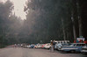 cars parked, riders off west!<br /> Pete Jansen<br /> 9-27-75   84-37