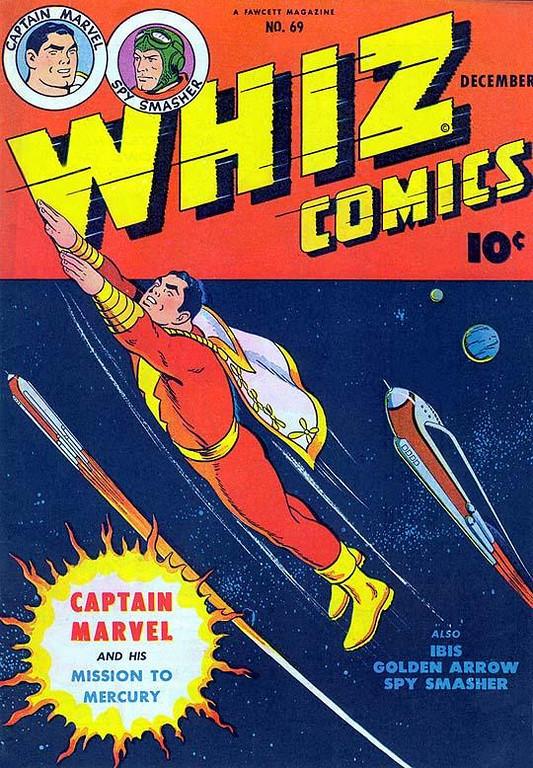 WHIZ COMICS #69 December, 1945 / Comic Book
