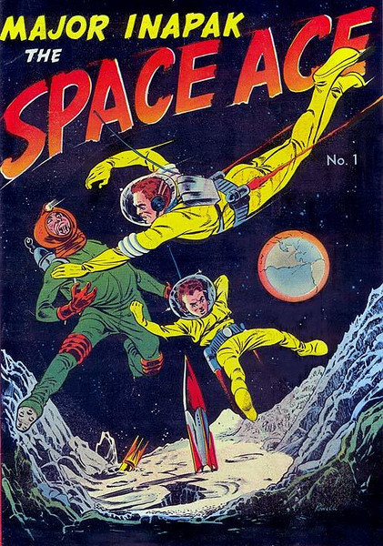 MAJOR INAPAK THE SPACE ACE (1951) Comic Book