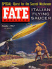 FATE MAGAZINE<br /> 'Italian Flying Saucers'<br /> OCt., 1957<br /> Vol 10 #10<br /> 130 pgs.<br /> Pulp
