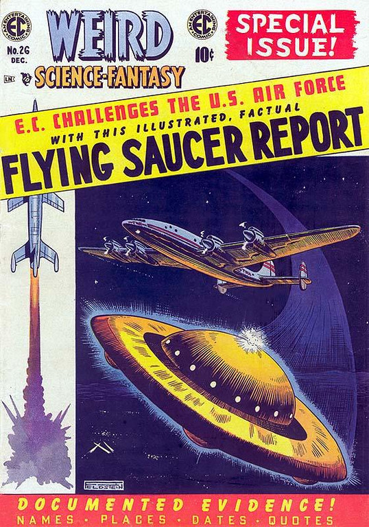 WEIRD SCIENCE-FANTASY # 26, December, 1954 / Comic Book