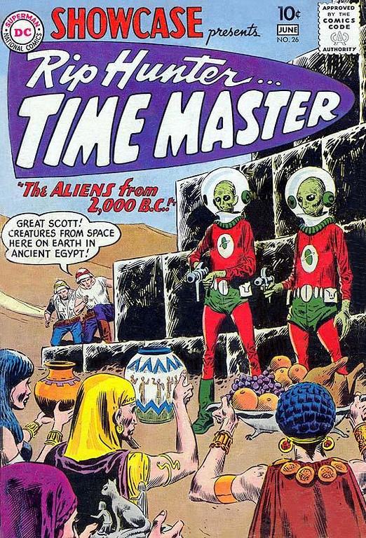 SHOWCASE #26 Rip Hunter...Time Master, May-June 1960 / Comic Book