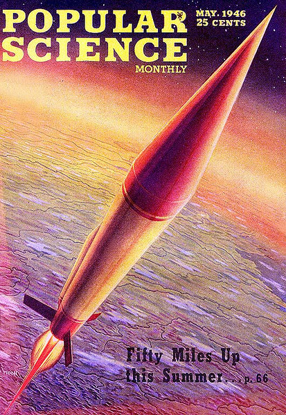POPULAR SCIENCE MONTHLY<br /> 'Fifty Miles Up this Summer '<br /> May., 1946<br /> Vol 148 # 5<br /> 280 pgs.<br /> Magazine