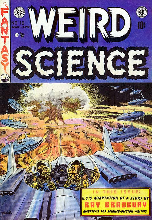 Weird Science Comic, #18, March-April, 1953