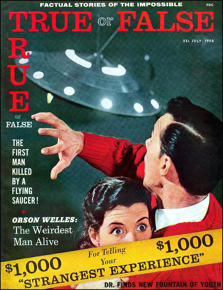 TRUE OR FALSE #2 (July 1958)