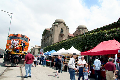 View of some of the vendors for the San Bernardino RR Days event, May 8 & 9 , 2010