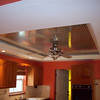 Kitchen ceiling with the diamond plate enhancement.