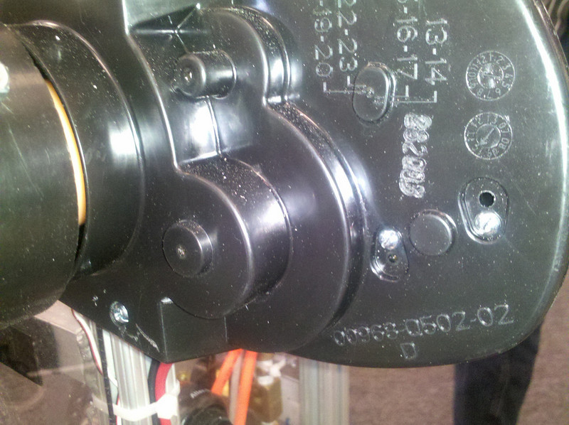 FP mounting screw.