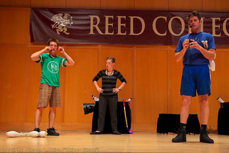 2014 Public Show, Rehearsal