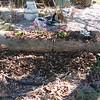 Second log planter