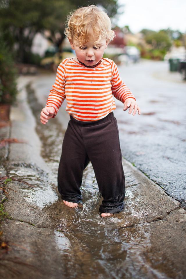 Day 337/1067 - Who needs rain boots?