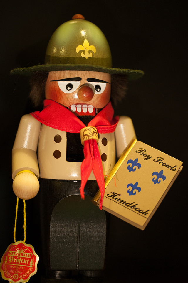 Day 346/1076 - My nutcracker collection has doubled.  Thanks, Mom for this very appropriate addition.