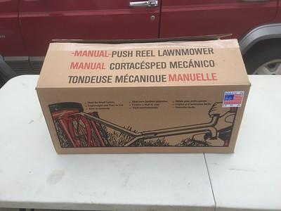 3/23-15 reel lawn mower