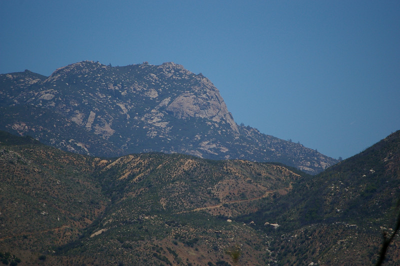 Corte Madera Mountain viewed from the west.