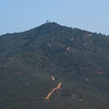 Los Pinos Mountain (Look closely and you'll see the fire station lookout on top)