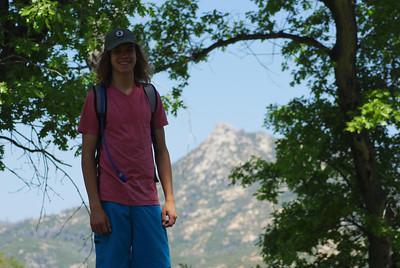5/6/12 Cuyumaca hike with Mason