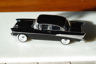 1957 Chevy Bel Air 1/24 Plastic Model