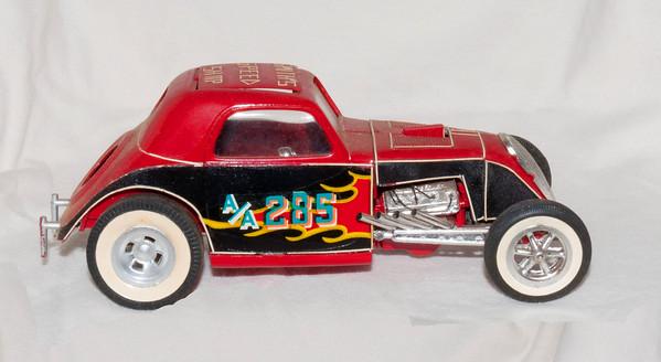 A kid's model cars