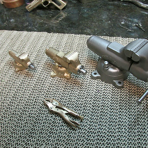 Vise grips will be nickel plated next.