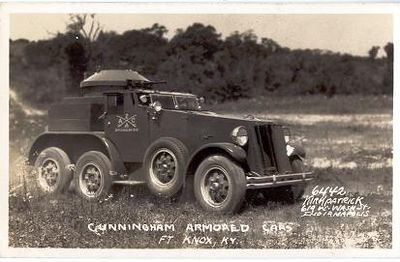 Cunningham Armored Car - Ft. Knox, KY