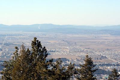 Now looking toward Hayden. If you look real close you can probably see our house. :)