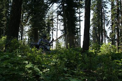 Pat on ATV Spades Mt