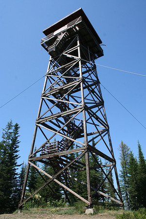 Old Fire Tower at Spades Mt