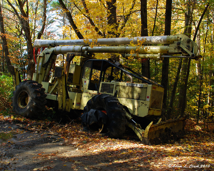 The ultimate deer hunting rig.  It can go anywhere and has it's own lifted stand.  Although it looks like even it can get flat tires