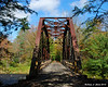 One of the bridges on the rail trail
