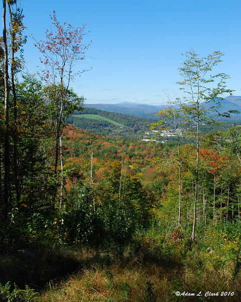 View from Mica Mine trails