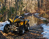 My ATV on Cat Hole Road