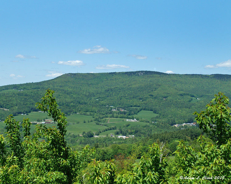 Green Mountain, the highest point in Claremont