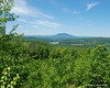 A view out over Claremont to Mt. Ascutney from the Mica Mine area section of trails