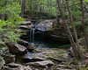 08.17.2016<br> Upper waterfall found just off one of the trails.  This part of the waterfall was probably about 20 feet tall