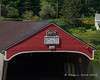 The end of the Bath Covered Bridge