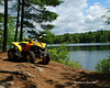 My ATV at Pisgah Reservoir
