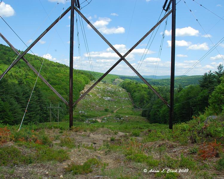 Powerlines in Hinsdale, NH