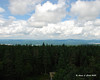 Looking North from the fire tower on Mt. Magalloway.