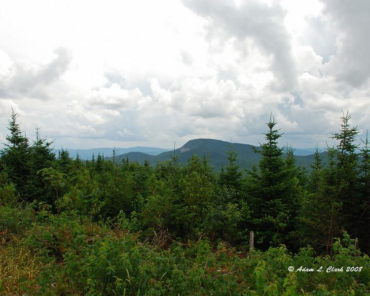 View of Mt. Magalloway from Diamond Ridge.