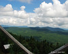 Looking to Diamond Ridge from the fire tower on Mt. Magalloway.