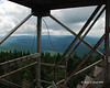 Looking West from the fire tower on Mt. Magalloway.