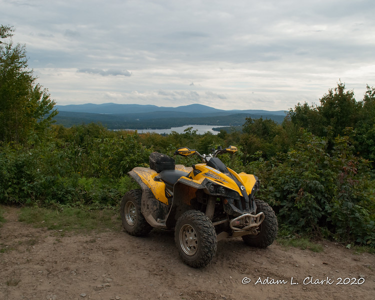 9-7-20<br> At the viewpoint on Shatney Mtn in Pittsburg, NH. Back Lake in the background