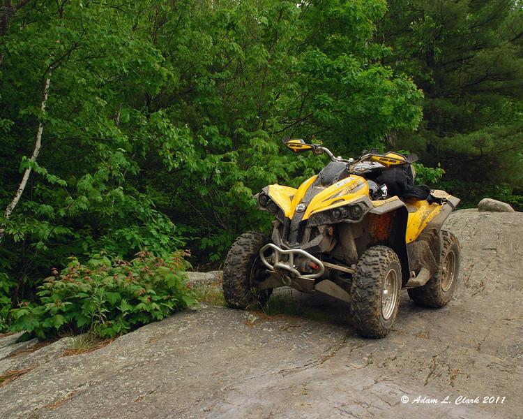 6-5-11<br /> My ATV at the top of Arrowhead