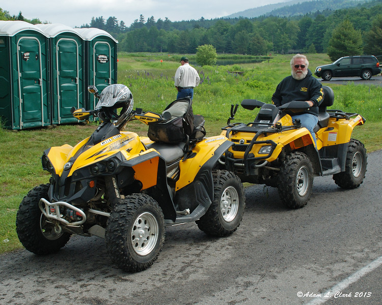 6-23-13<br /> Ready to ride up the Mt. Washington Auto Road