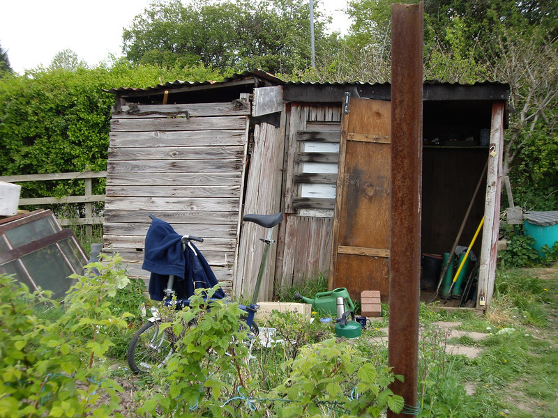 Now that's what I call a shed!