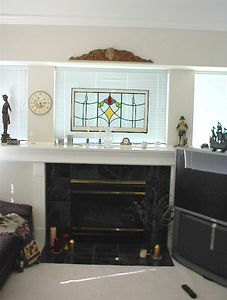 Sitting room - Early 20th century English stained glass window